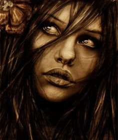 Through Her Eyes – Traditional Art by Isaiah Stephens - Pondly