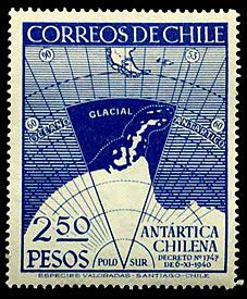 Chile.Ant.Claim - Estampillas de Chile - Wikipedia, la enciclopedia libre