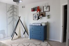 Rustic Gray Nursery
