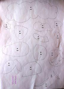 Fiocco di Nascita con Bebe Cartamodello Felt Name Banner, Name Banners, Felt Patterns, Baby Patterns, Frame Wreath, Softies, Felt Crafts, Baby Love, Baby Dolls