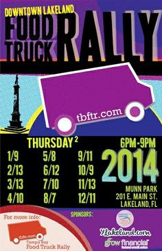 Monthly Food Truck Rally