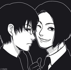 Kaneki and Furuta ||| Tokyo Ghoul: Re Fan Art by scribbly-z-raid on Tumblr