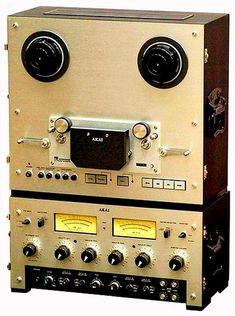 AKAI Pro-1000, катушечная дека, катушечный магнитофон, катушечник, бобинный магнитофон, high-End, hi-fi, винтажная электроника, vintage Cd Audio, Audio Sound, Hifi Audio, Cassette Vhs, Recording Equipment, Speaker Design, Tape Recorder, High End Audio, Audio System