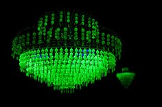Incredible radioactive chandelier.
