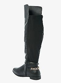 TORRID.COM - Over-The-Knee Strappy Chain Link Boots (Wide Width)