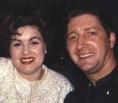 Patsy Cline and her husband Charlie Dick