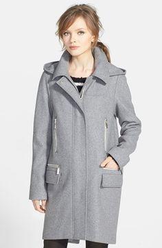 Loving this duffle coat.