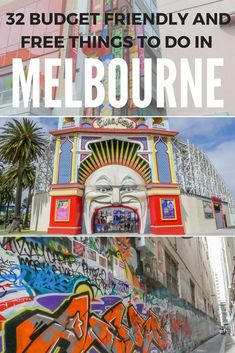 Melbourne has been voted the world's most liveable city, and I completely understand why! If you're planning a visit then make sure you check out these budget friendly and free things to do and I guarantee you will love it as much as I do!