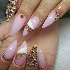 Love these. A little less bling would be perfect