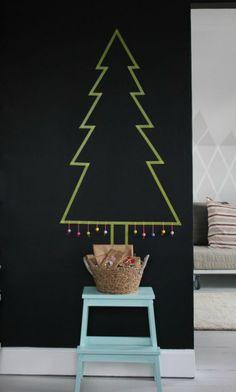 masking-tape-kerstboom
