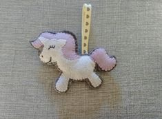 This project is a Felt Unicorn Hanging Decoration, it is a simple project and I will take you through each step in creating your very own Unicorn Felt creation. Felt Diy, Felt Crafts, Craft Tutorials, Sewing Tutorials, Unicorn Pattern, Felt Patterns, Easy Projects, Step Guide, Hand Stitching