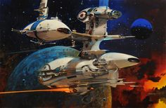 Sci-Fi works by John Berkey