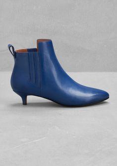 Otho Zip Rhythm and shoes Kitten heel boots, Beige
