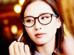 We're blushing. Thrilled to be working with Liu Shishi for our Light and Shine collection of glasses.