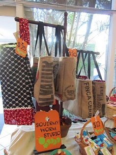 Easy bag display tutorial from http://madewithlove-candice.blogspot.ie/2010/11/pvc-pipe-handbag-display.html