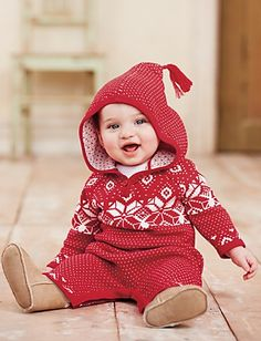 Hanna Andersson Knitting In Swedish Romper | Baby Seasonal Sale