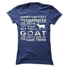Happiness Goat T-Shirt for Women | DonaShirts.com - Dare To Be Tshirts, Hoodies And Custom