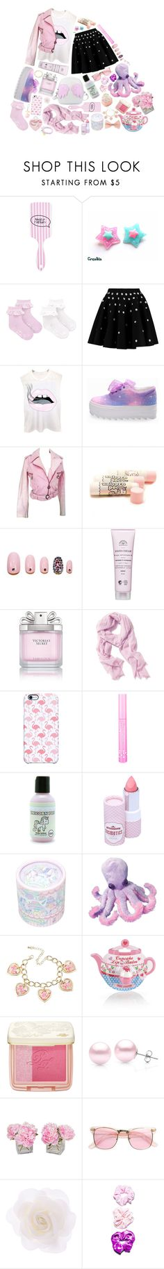 """""""You're cute."""" by quemaproprevie on Polyvore featuring Forever 21, Giambattista Valli, Roberto Cavalli, Static Nails, Victoria's Secret, Old Navy, Uncommon, NYX, Etude House and Chicnova Fashion"""
