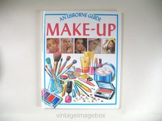 Vintage Make-Up book 1980s tutorials Usborne by VintageImageBox
