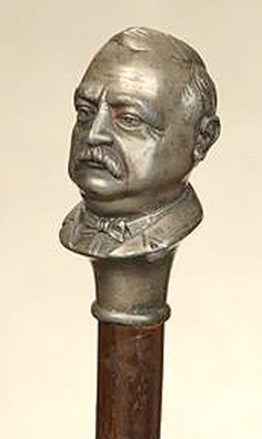 1885 Presidential Campaign Walking stick - Grover Cleveland