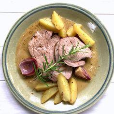bushcooks kitchen: Zu Gast in Griechenland: Langsam geschmorte Lammkeule