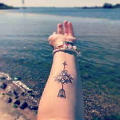 Arrow lotus flower tattoo #arrowtattoo #lotusflower #lotustattoo #firsttattoo #arrowlotustattoo #tattoo
