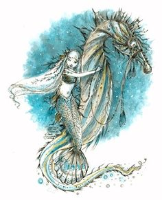 'Marisela and the Seahorse' by Paulina Cassidy