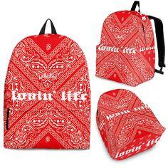 Bandana Outfit, Red Bandana, Bandana Print, All Red Nike Shoes, Bandana Crafts, Diy Cut Shirts, Bandana Design, Bandana Styles, Aesthetic Shoes