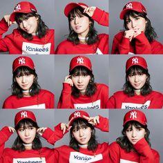 MLB 2018 SPRING X TWICE COLLECTION : #TWICE #MOMO Twice Group, Twice Album, Twice Sana, Tzuyu Twice, Hirai Momo, K Idol, Boyish, One In A Million, Nayeon