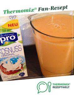 Gute Laune Smoothie (meine Kinder lieben ihn) von Dree81. Ein Thermomix ® Rezept aus der Kategorie Getränke auf www.rezeptwelt.de, der Thermomix ® Community.