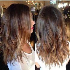 beautiful-caramel-balayage-in-medium-length-hair                                                                                                                                                                                 More