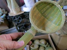 竹お玉 水切り キッチン道具 台所用品 kitchenware bamboo 竹細工 虎斑竹専門店 竹虎