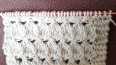 Knitting Videos, Knitting Stitches, Knitting Patterns, Cardigan Design, Crochet Instructions, Mode Outfits, Smocking, Roman Curtains, Knit Crochet