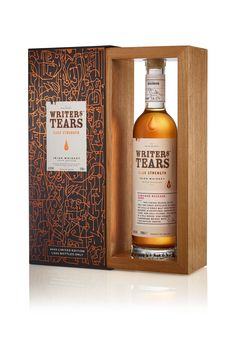 Writers Tears Cask Strength 2020 Release | The Whiskey Companion Irish Whiskey Brands, Pepper Spice, Pot Still, Bourbon Barrel, Jack And Jill, Label Design, Whiskey Bottle, Writers, The Creator