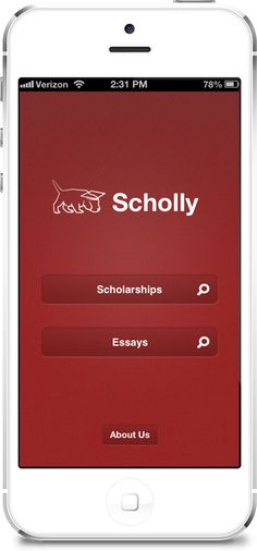 A fabulous App to help find scholarships!  For high school seniors, current undergraduates and graduate students.