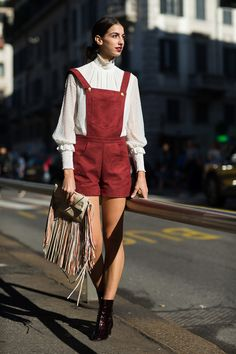 See the best street style looks from Milan Fashion Week Spring/Summer 2016 on TheTrendSpotter.net