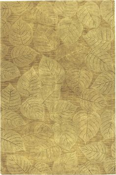 Applerouth Hand-Tufted Gold Area Rug