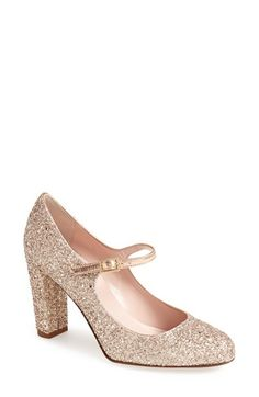 1920s Style Shoes: kate spade new york 'angelique' mary jane pump (Women)