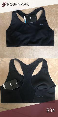 7e4a458e340a6 ❤️Nike Sports Bra Small NWT Nike Dri Fit Black Sports Bra! New Small Happy