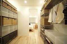 壁と棚の家 @ MUJI HOUSE VISION
