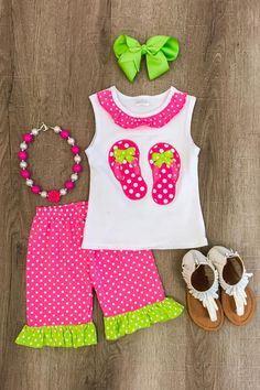 fc4cb25abf2 Boutique Outfits · Baby Kids ClothesDoll ClothesKids FashionLittle Girl ...