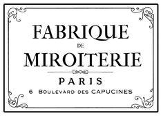Parisian Factory Furniture Transfer