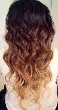 Im going to ombre my hair this spring before I go back to blonde, and Im pretty excited ;)