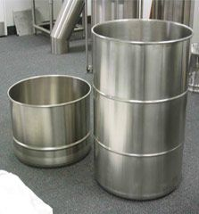 Ability Fabricators is a leading manufacture of stainless steel industrial containers. We ensure quality fabrication and solutions to meet your custom requirements. Stainless Steel Drum, Stainless Steel Containers, Stainless Steel Countertops, Steel Shoes, Shoe Cubby, Conveyor System, Cleaning, Welding, Beverage