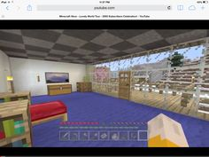 Once I made Stampy's room