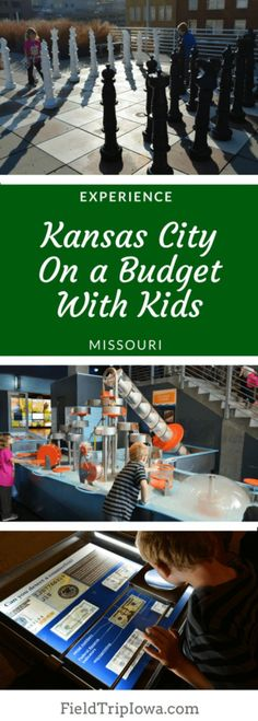 Kansas City On a Budget With Kids shares free ways to play. Just a few short hours from central Iowa, Kansas City offers the most bang for your buck with kids. Kid Friendly Vacations, Family Vacations, Family Trips, Family Travel, Overland Park Kansas, Midwest Vacations, Kansas City Missouri, Travel With Kids, Iowa