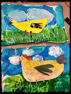 it's an HSES Arty Party!: ChIcKeNs! ChIcKeNs! ChIcKeNs!