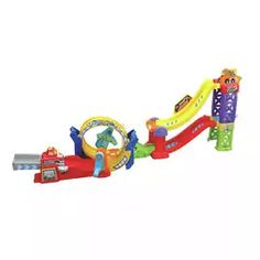 Buy VTech Toot-Toot Roller Coaster Loop Set | Toy cars, vehicles and sets | Argos Learning Toys, Early Learning, Sing Along Songs, Toys For 1 Year Old, Toot, Imaginative Play, Argos, Roller Coaster, More Fun