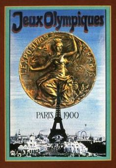 Paris Olympics 1900. Add Around The Rings on www.Twitter.com/AroundTheRings & www.Facebook.com/AroundTheRings for the latest info on the Olympics.