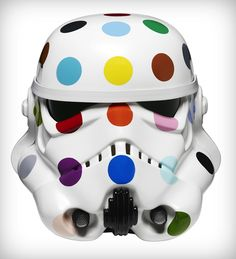 Take some of the most notable contemporary artists of our time and let them loose on a Stormtrooper helmet and you'll have strayed into the territory of Art Wars - an upcoming display at London's Saatchi Gallery. Image via Trendland.